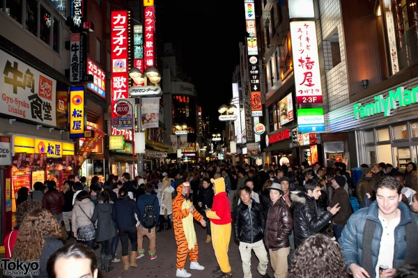 Shibuya New Years Eve Countdown