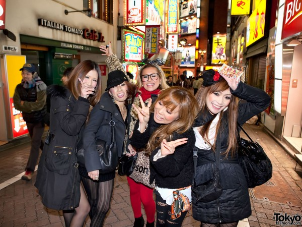 Shibuya Girls Happy New Year