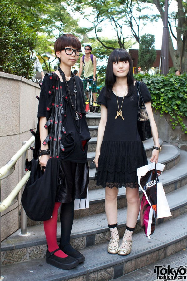 Plastic Tree Fans in Harajuku