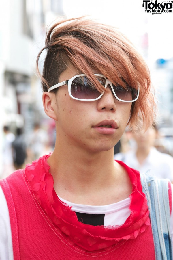 Japanese Guy With Red Hair