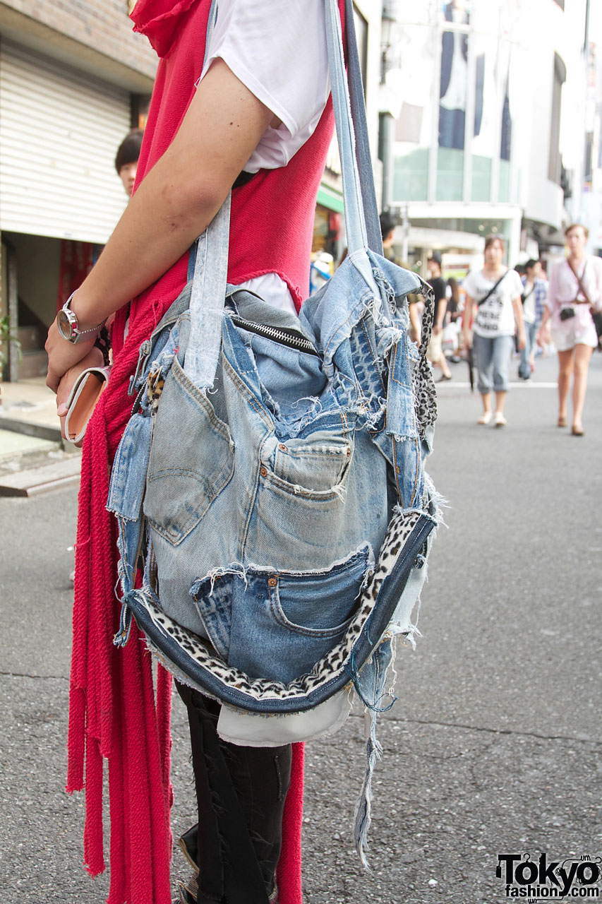 Vinti Andrews Remake Denim Bag Tokyo Fashion News