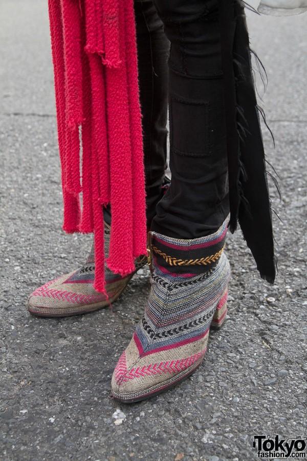 Banal Chic Bizarre high heel boots