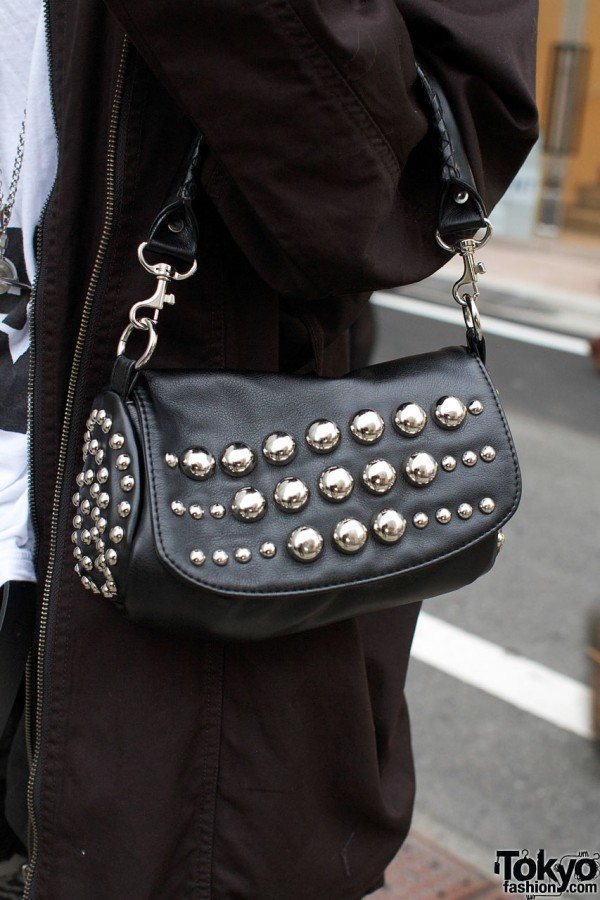 Studded purse from Sly