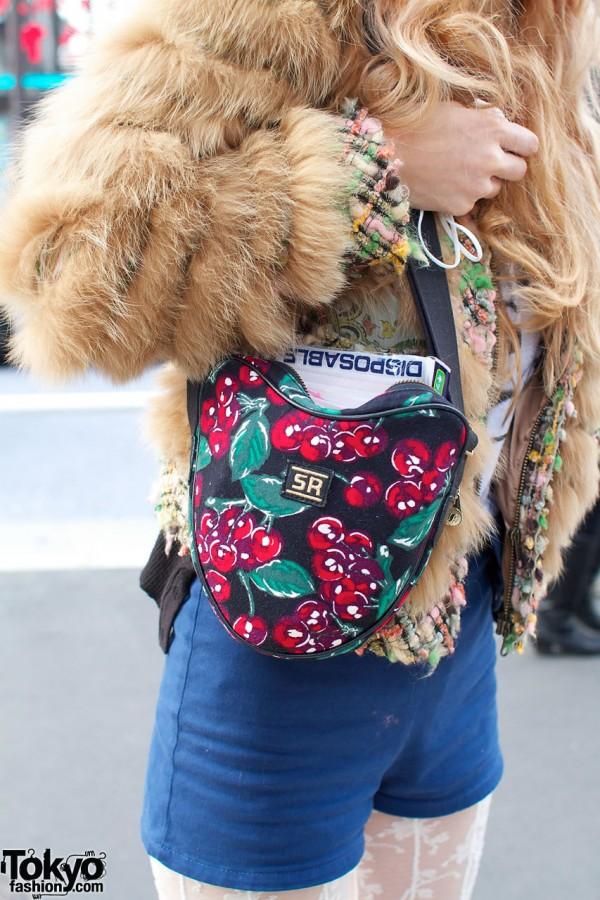 Sonia Rykiel cherry-print bag
