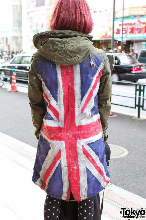 Union Jack on RNA jacket
