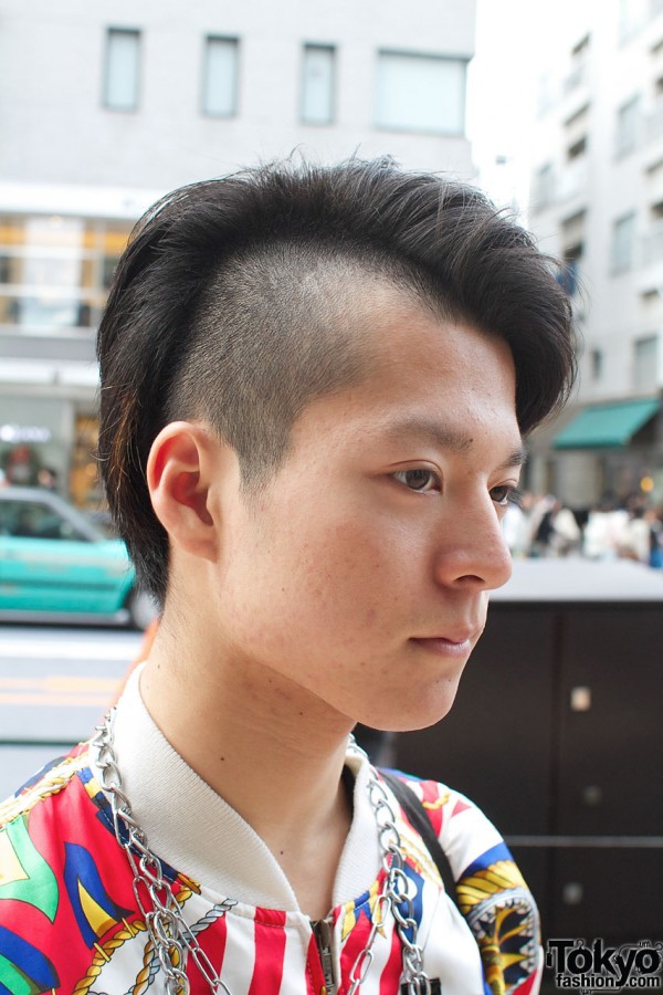 Shaved & long hair