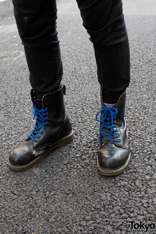 H&M pants & Dr. Martens boots