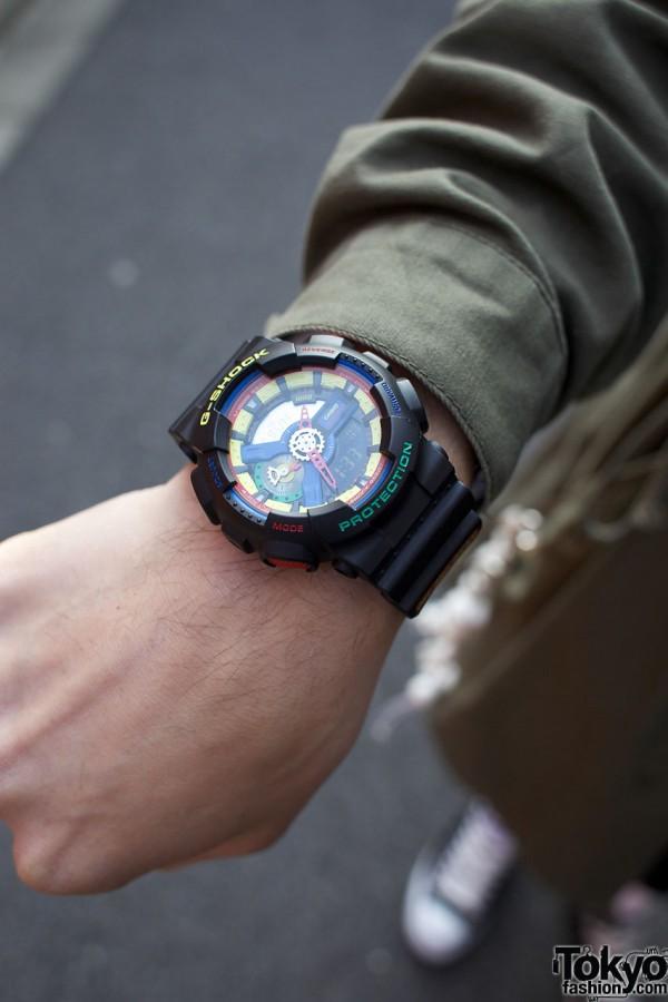 Dee & Ricky G-Shock watch