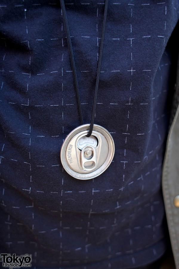 Phenomenon can top necklace