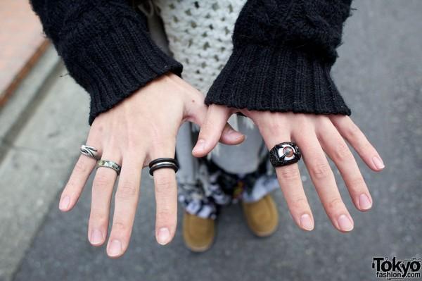 GGD rings