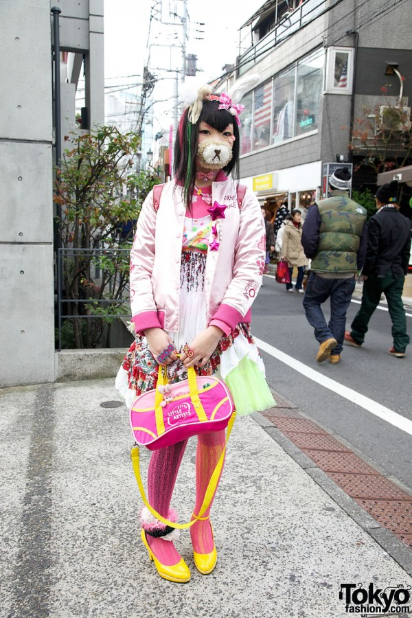Harajuku Girl in Pink