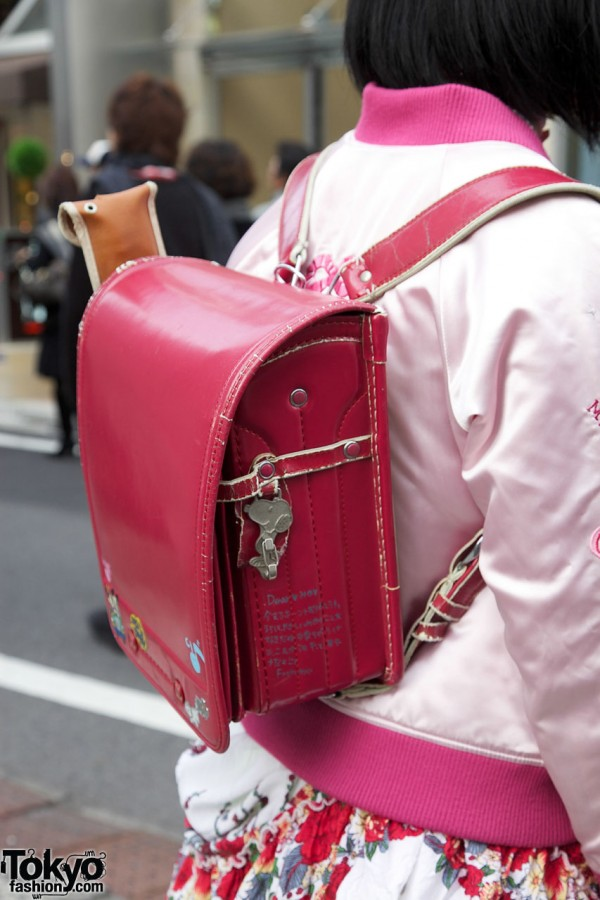 Harajuku Girl Backpack