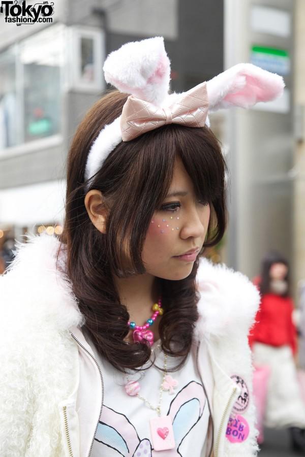 Bunny Ears in Harajuku