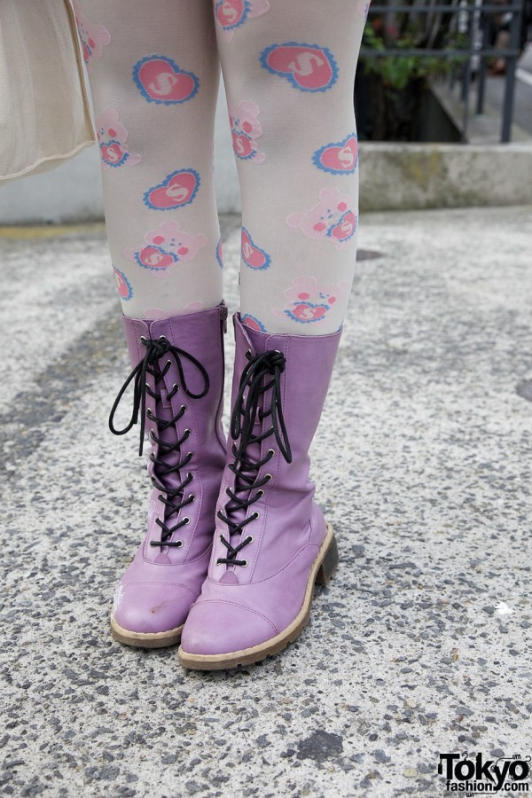 Purple Boots from Swimmer