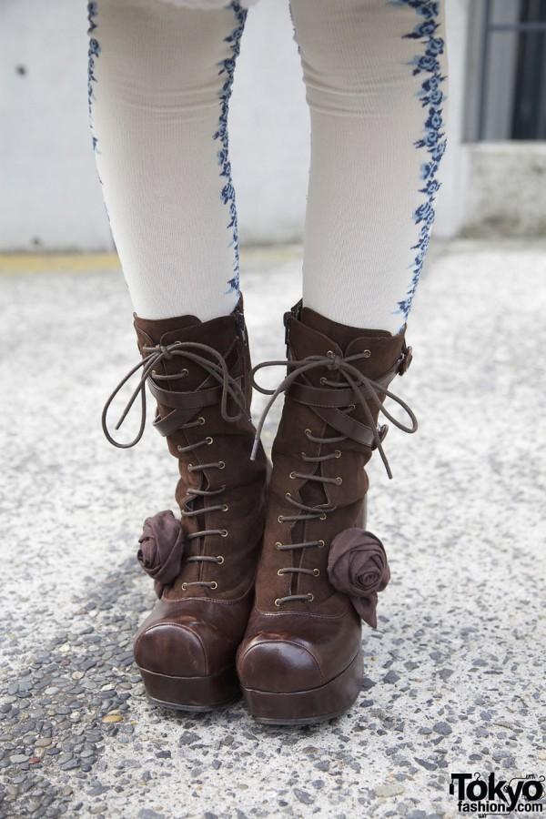 Leche by YOSUKE boots