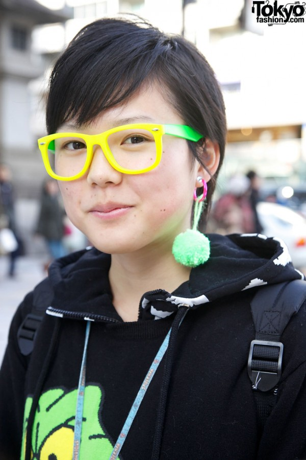 Colorful Glasses in Harajuku