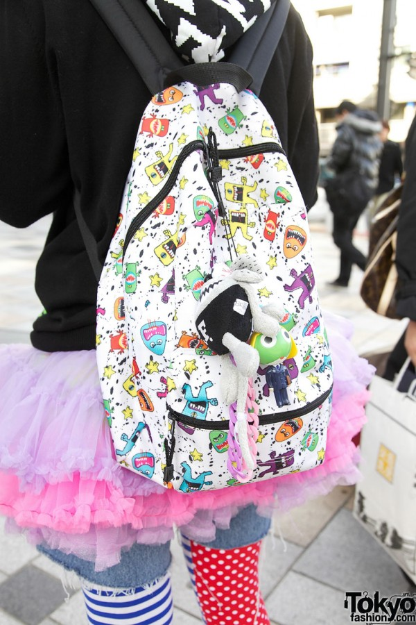 Cute Monsters Backpack