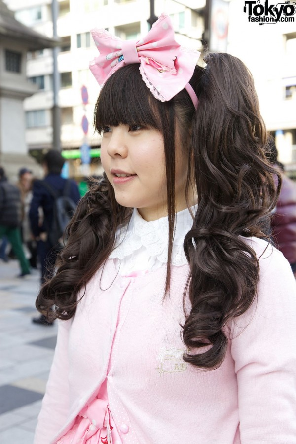Pink Angelic Pretty Hair Bow
