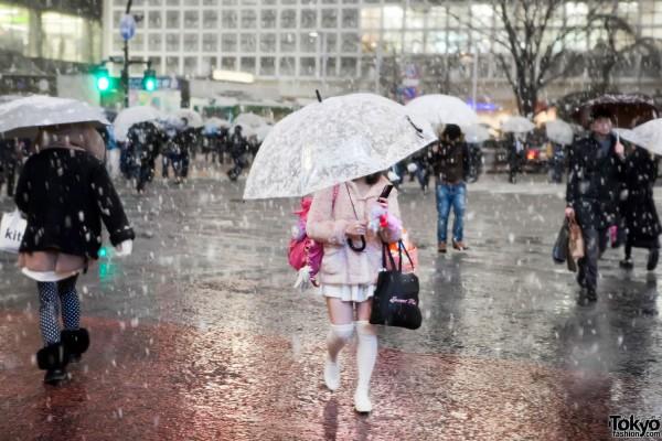 Tokyo Snow Girl