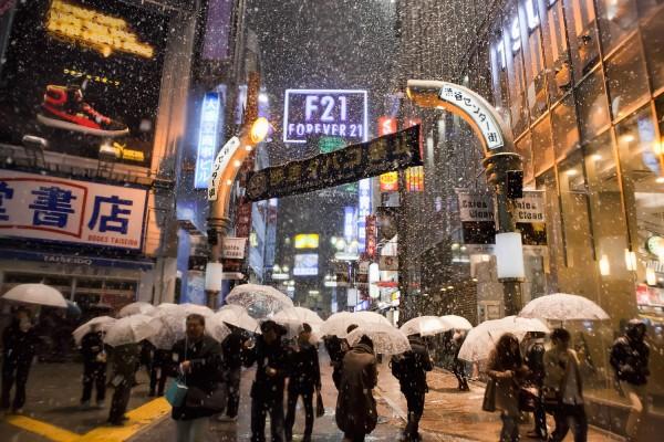 Shibuya Center Gai Snow