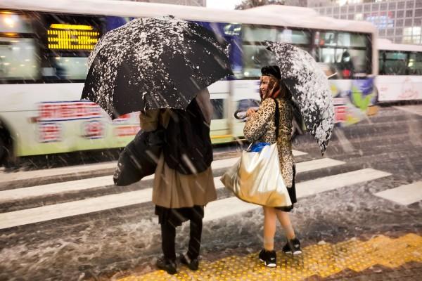 Snow Fashion in Tokyo