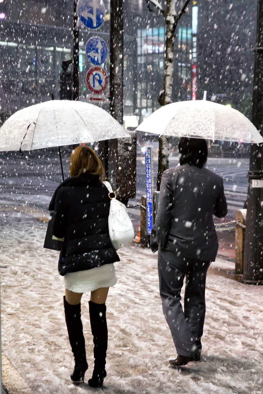 Shibuya Snow Fashion