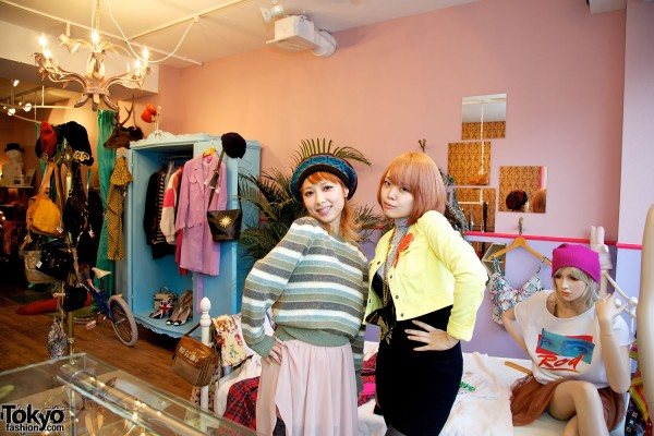 Fun Girls at Bubbles Harajuku