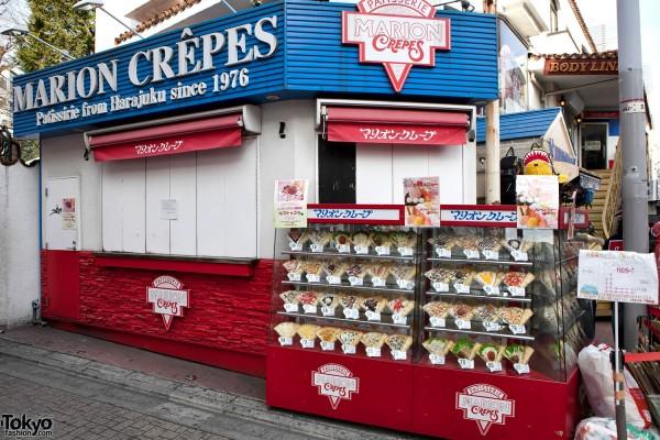 Harajuku Crepes Shop Closed by Earthquake