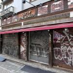 Takeshita Street Shops Closed by Earthquake