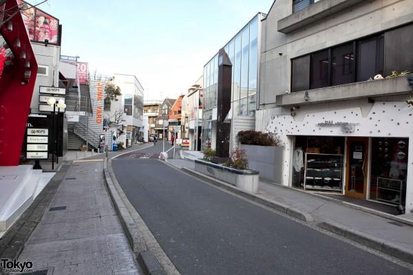 Cat Street Harajuku - Earthquake