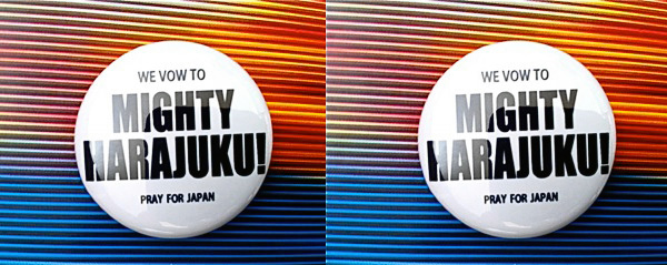 Mighty Harajuku Project Pins