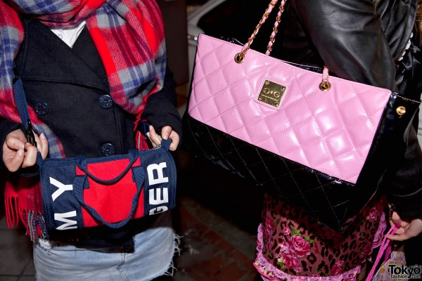 Tommy Hilfiger & Pink Quilted Purse