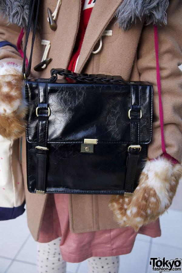 Jeanasis cross-body purse
