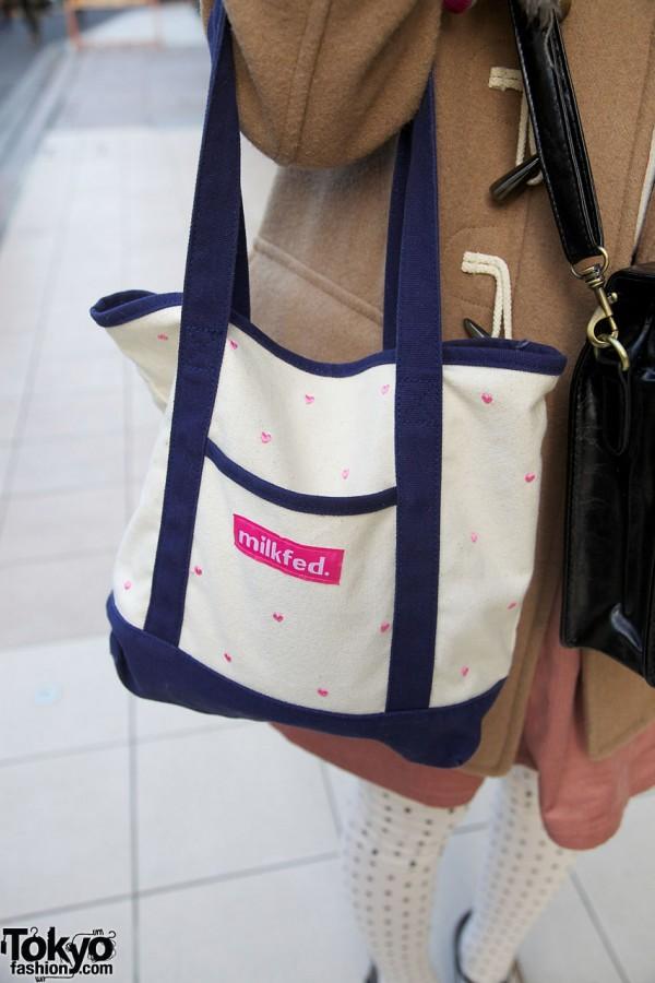 Milkfed canvas bag