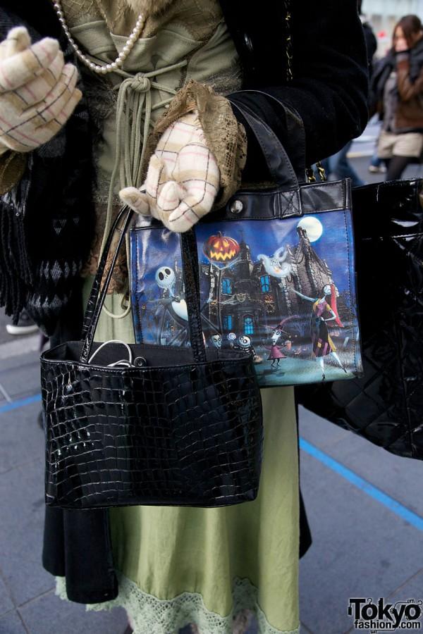 JPG & Nightmare Before Christmas bags