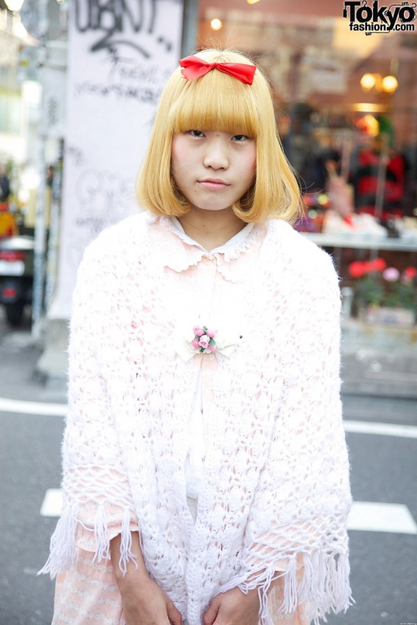Kinjii crochet shawl