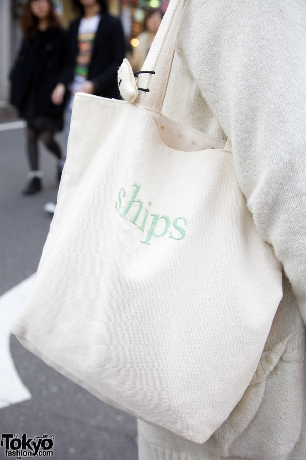 Ships fabric tote