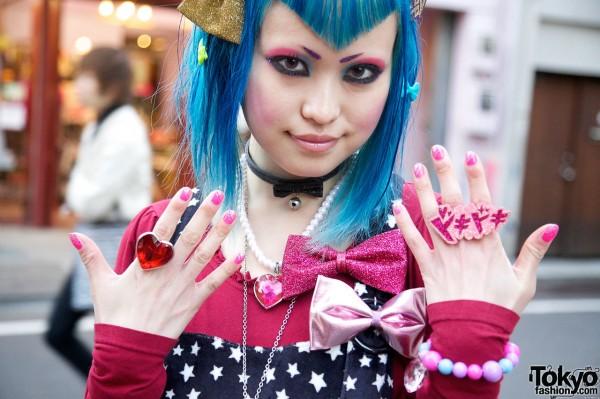 Glam jewelry & nails