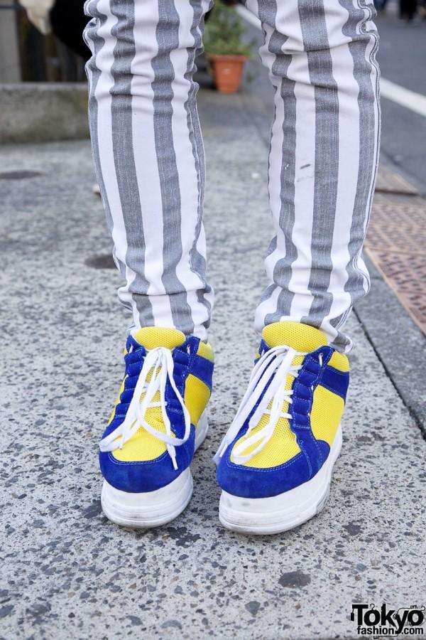 Banal Chic Bizarre platform sneakers