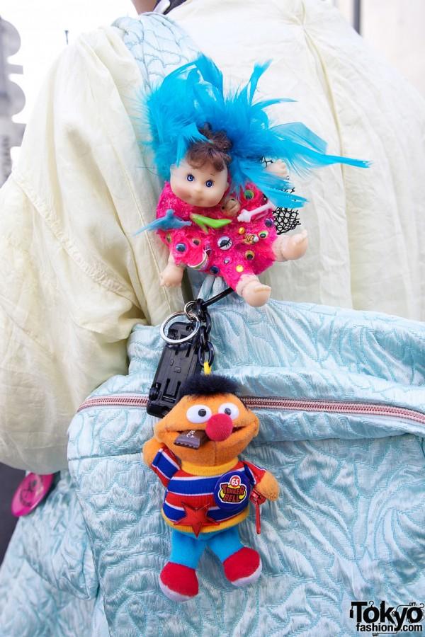Sesame Street Ernie & small doll