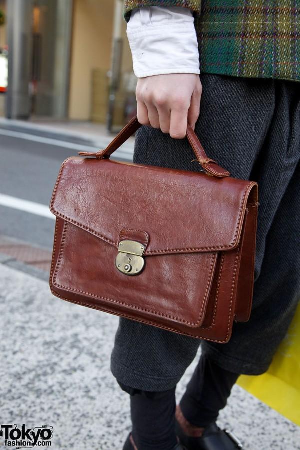 Flea market satchel