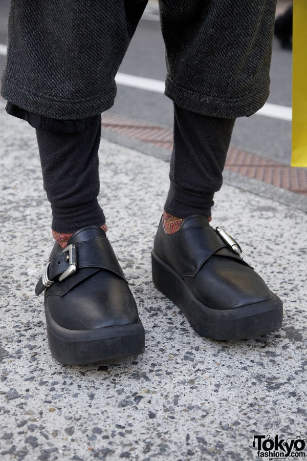 Tokyo Bopper shoes with buckles