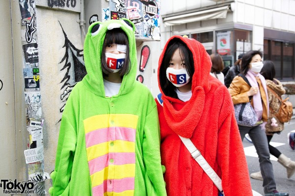Harajuku Cosplay Girls