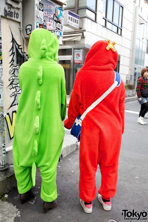 Golden Bomber Fans in Harajuku