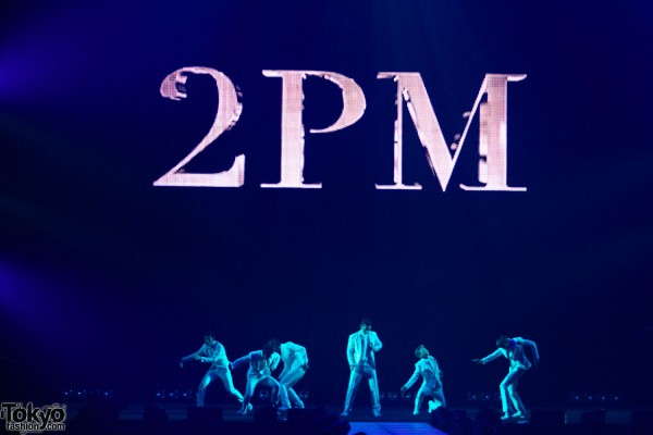 2PM Concert at Tokyo Girls Collection