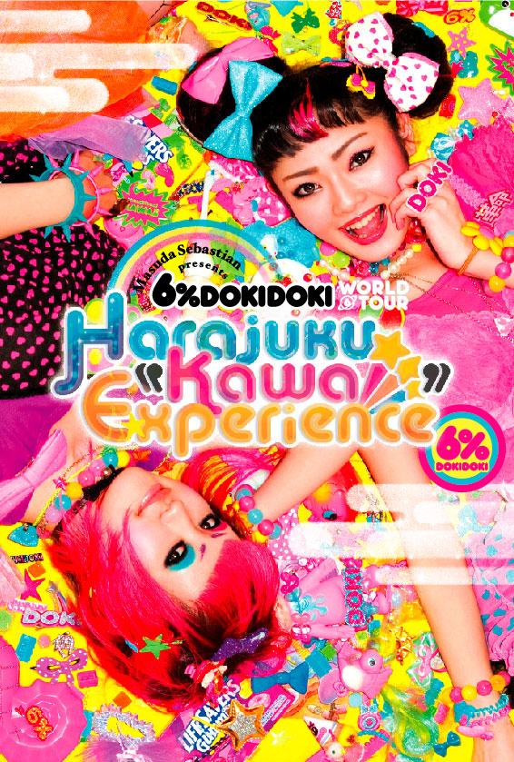 6%DOKIDOKI x MIGHTY HARAJUKU Project 2011 World Tour