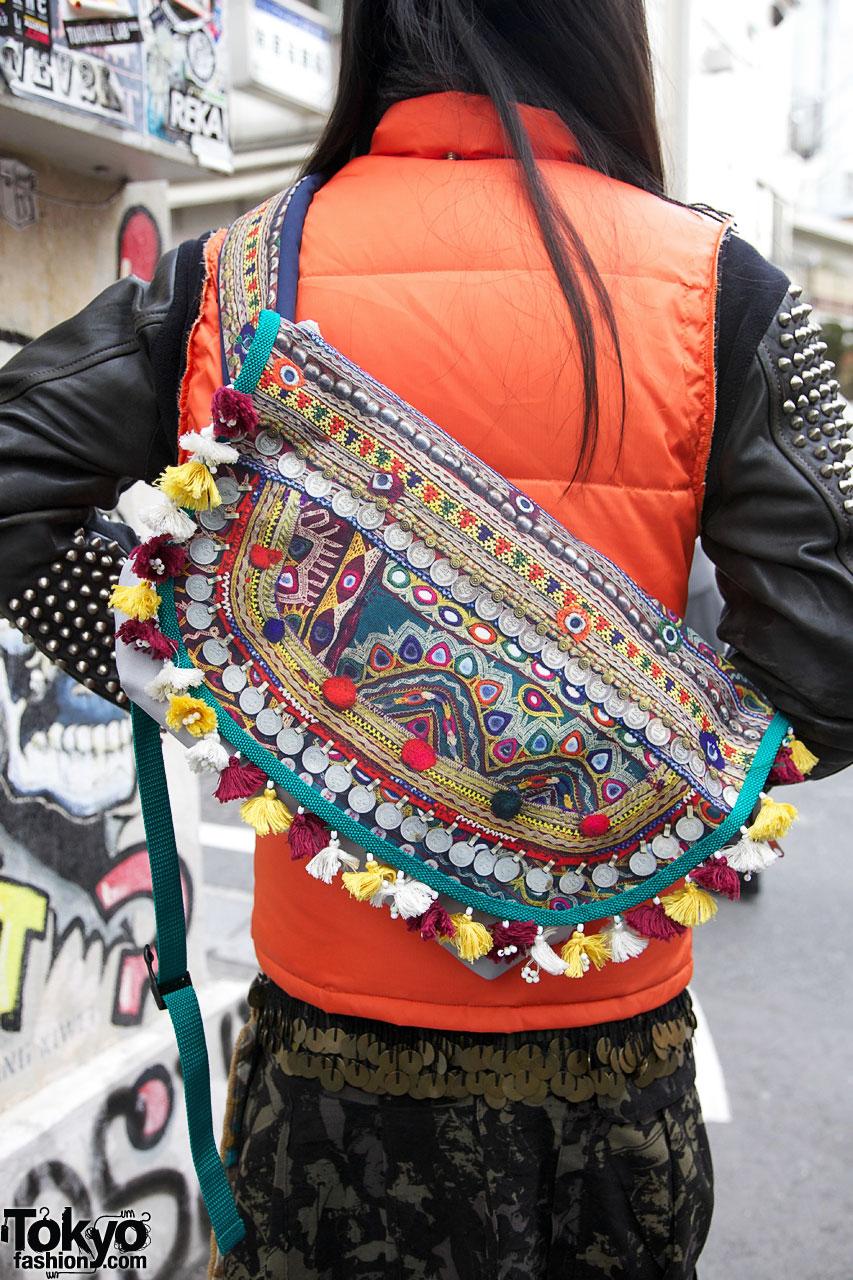 Raf Simons Zipper Boots Amp Ethnic Bags
