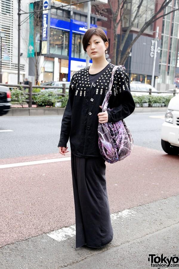 Maxi Dress & Embellished Jacket in Harajuku