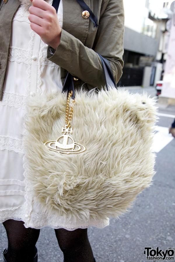 Vivienne Westwood fur bag