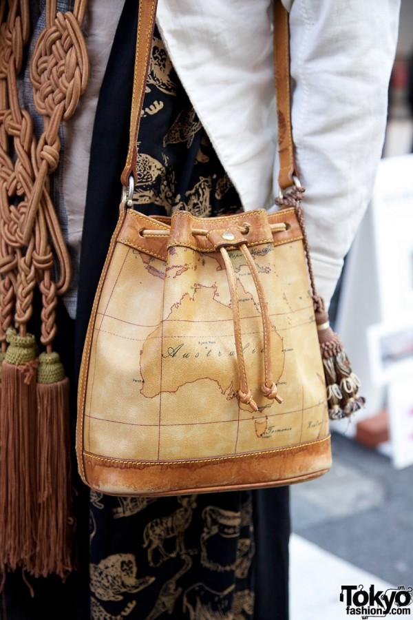 Leather Austrailian bag